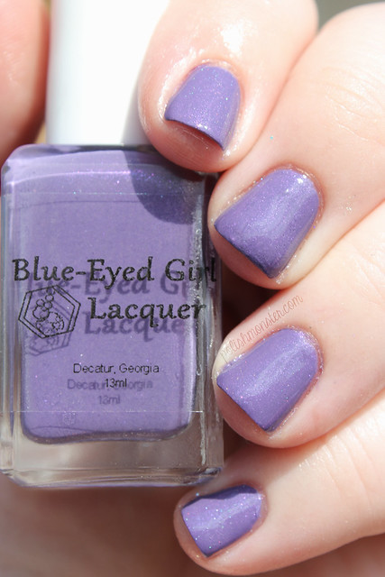 Blue Eyed Girl Lacquer Just Admiring Your Skills, Sweetie