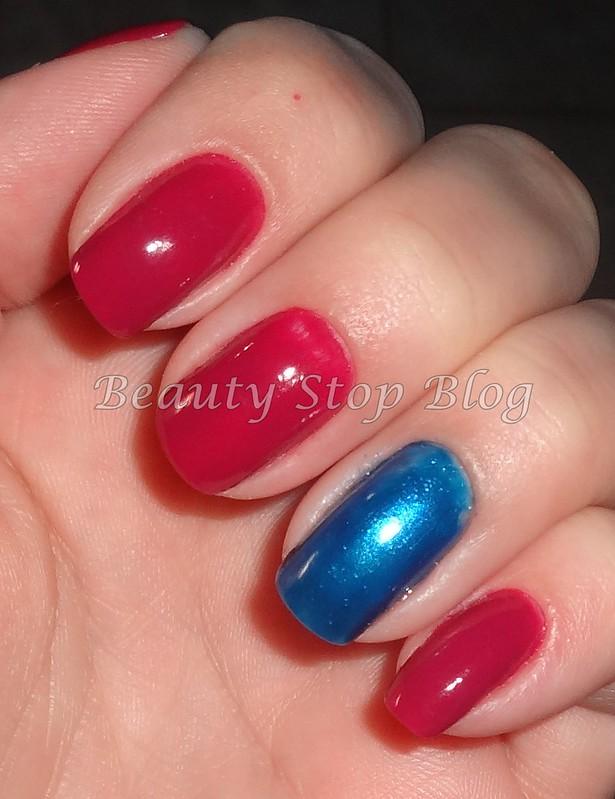 unha da semana esmalte jura da colorama e azul da adriane galisteu beauty stop blog bruna reismão