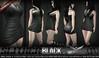 Razor/// Slither Dress - Black