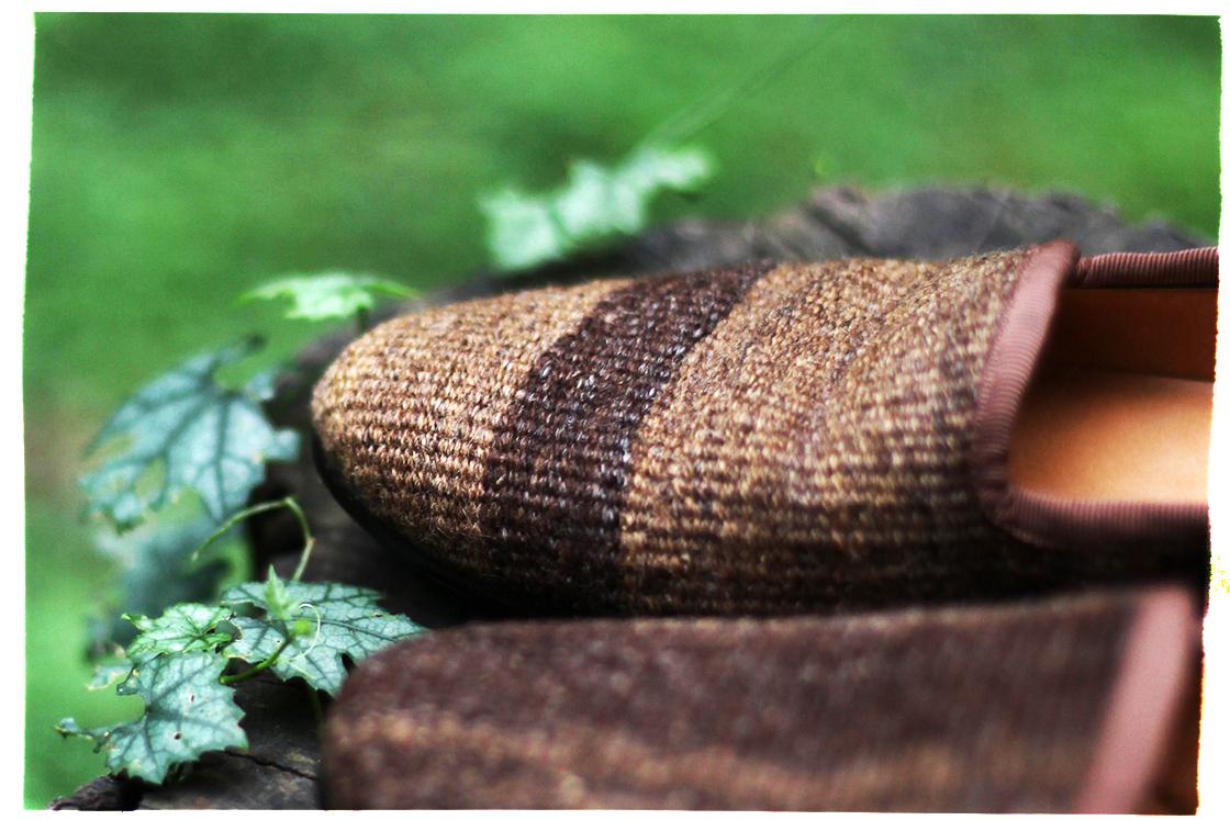 vintage rug slippers 2
