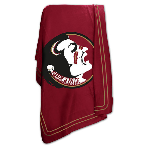 Florida State Seminoles NCAA Classic Fleece Throw
