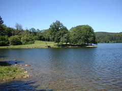 Le lac du Montagnes-Debut