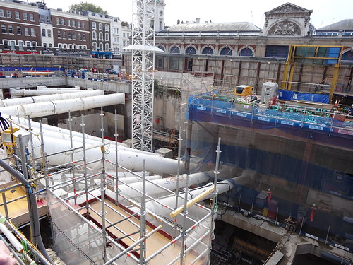 08l - Smithfield and Farringdon Crossrail east site