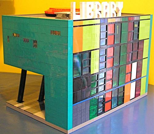 Peckham Library by Tim Richards