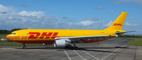 D-AEAF Airbus A300B4-662R cargo DHL 28-09-2014
