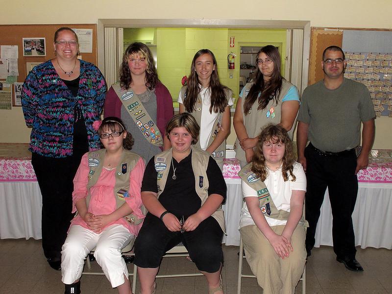 Girl Scout troop