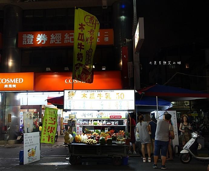 6 高雄六合夜市烤肉之家鄭老牌木瓜牛奶