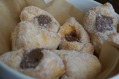 baking, baked goods, poffertjes, food, dish, dessert, cuisine, beignet, snack food, powdered sugar,