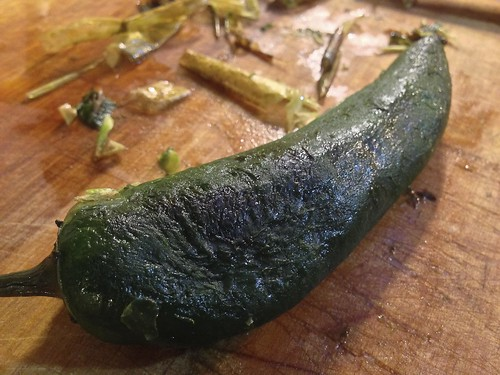 Roasted & peeled #Jalapeño #pepper - h6241