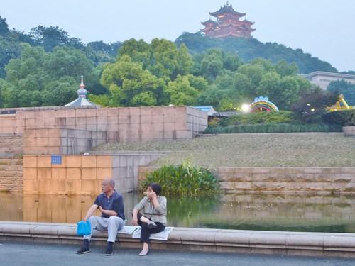 Zhejiang-Hangzhou-Quartier historique-Soir (4)
