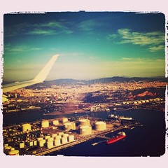 Just landed in #beautiful and #sunny #Barcelona !