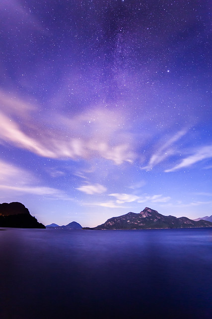 A Night At Porteau Cove