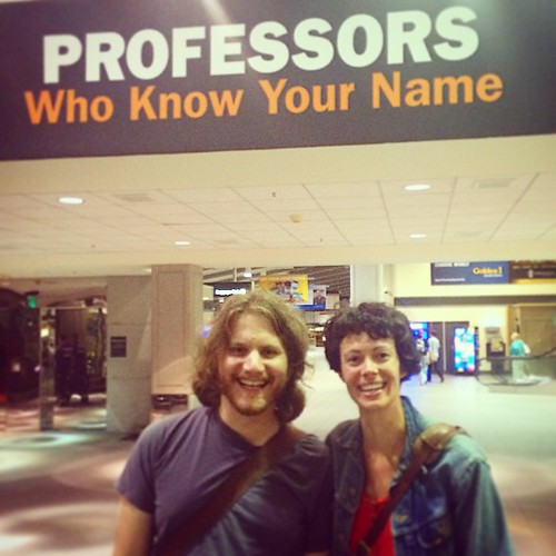 They know your name #latergram #professorsofinstagram