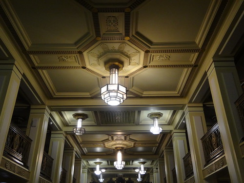 04zi - Ceiling of the library in Freemasons Hall