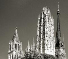 Spires of Rouen