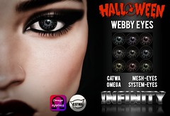 !NFINITY Halloween Webby Eyes