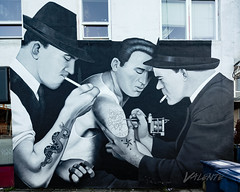 Slave to the Needle Mural