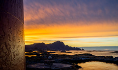 View towards southfrom the Andenes lighthouse, Andøya.