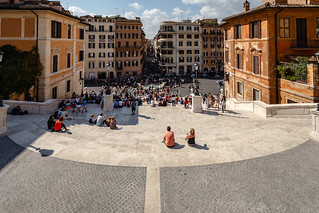 Imagen de Plaza españa. rom roma lazio italien city street steps