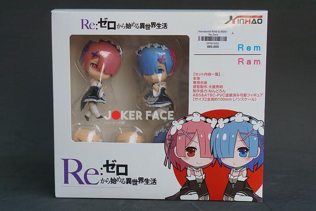 Nendoroid Ram & Rem - Re:Zero