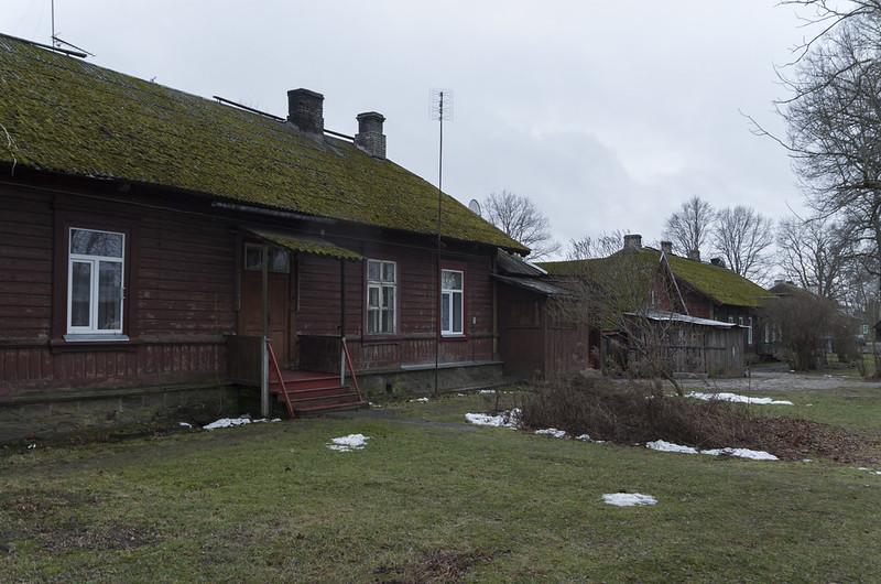Raudteetööliste majad, 03.01.2015.