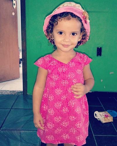 Cada dia mais linda minha Princesa. 😍  #anaclarafigueira