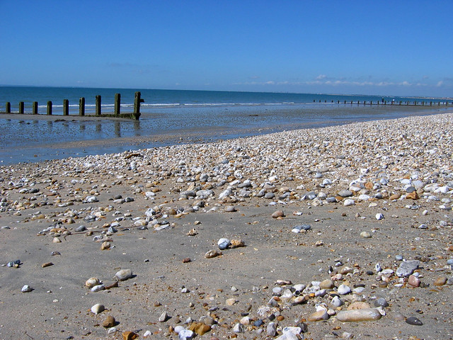 The coast between Selsey and East Wittering