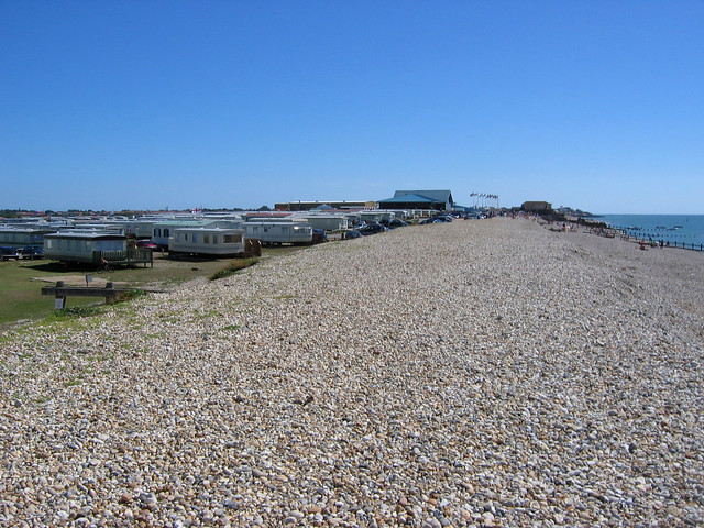 The beach west of Selsey
