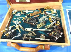 Mineature Woodworking tools,  Model Engineering,  NAMES Convention Yack Arena, Wyandotte MI, 4-2014