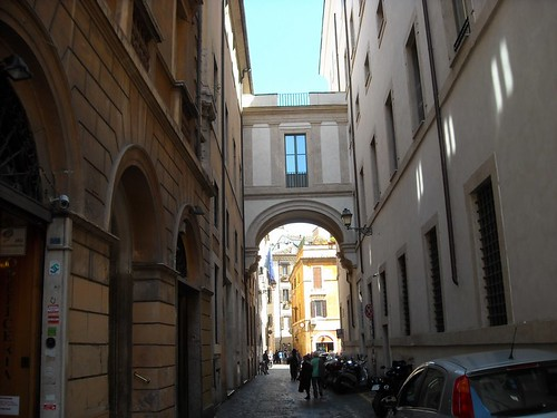 Arch of St Margherita n Rome