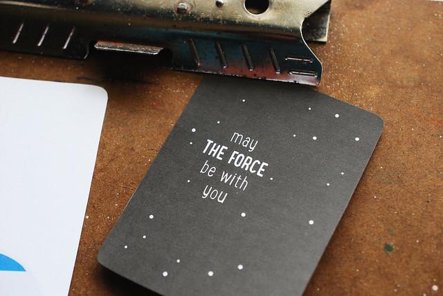Star Wars Day Journal Cards