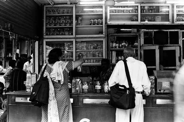 Delhi on B&W acros 100 pushed 3 stops and TMax400-4