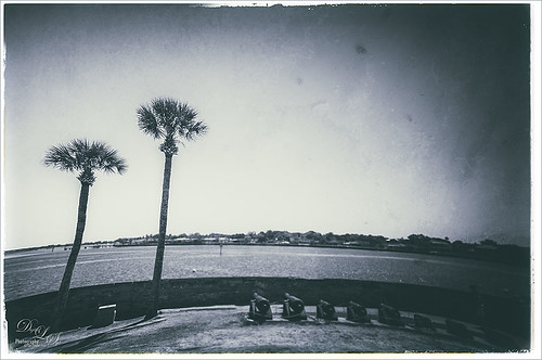 Image of view from Castillo de San Marcos in St. Augustine