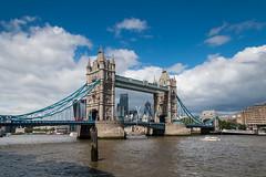 Tower Bridge over the Thames London