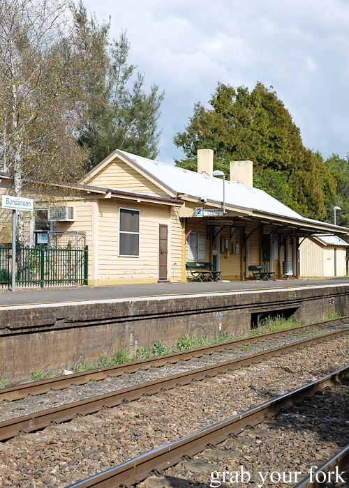 Bundanoon train station