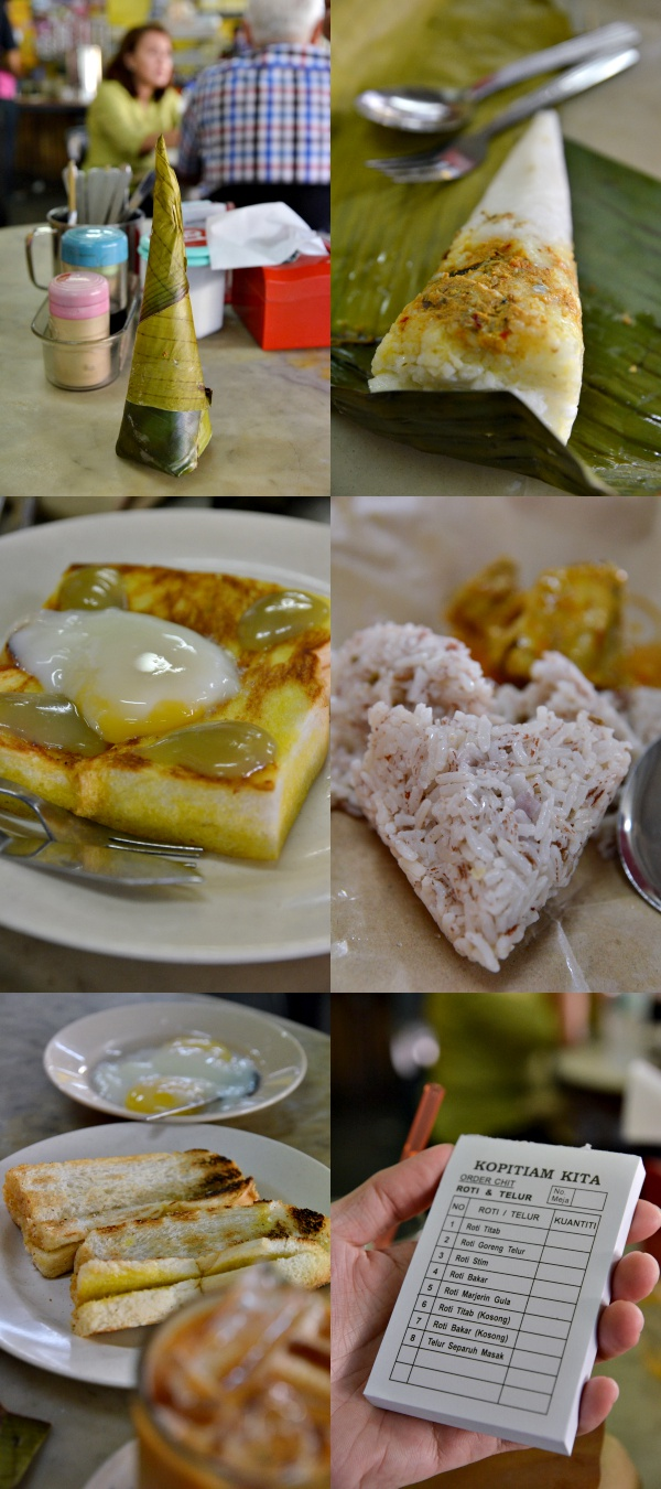 Collage Food @ Kopitiam Kita