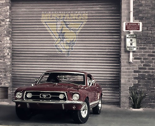 1967 Ford Mustang GTA Fast back