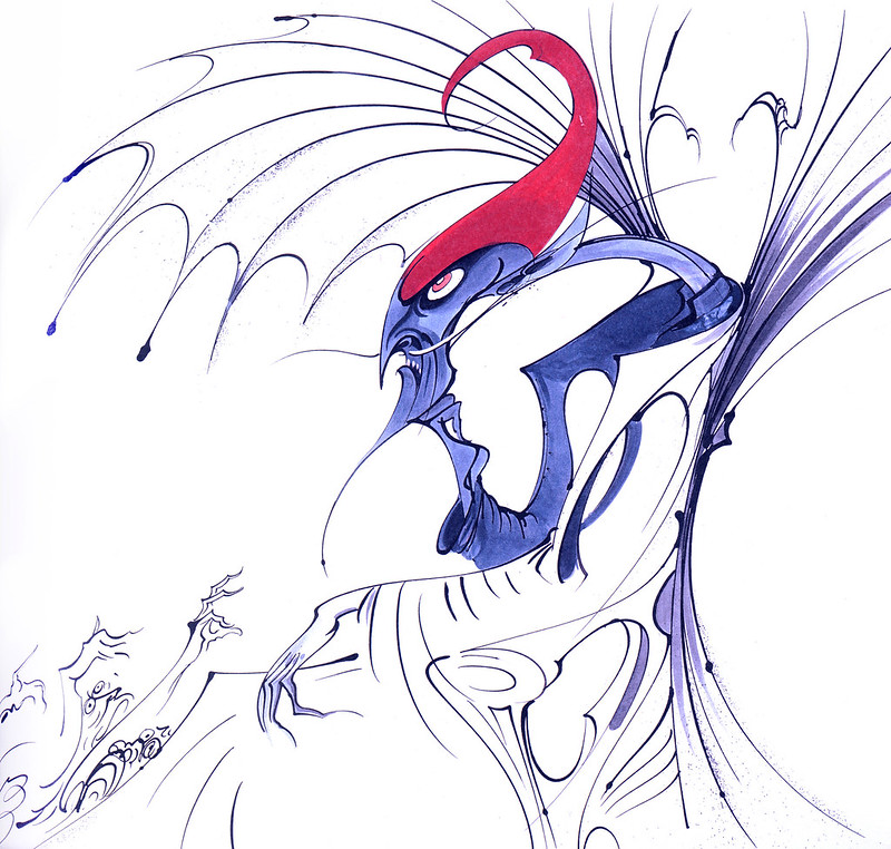 Gerald Scarfe - Hercules Conceptual Paintings 12