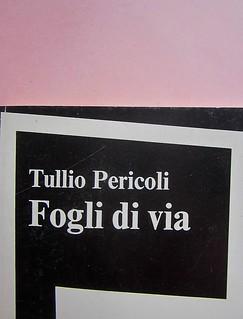 Fogli di via, di Tullio Pericoli. Einaudi 1976. Responsabilità grafica non indicata [Bruno Munari]. Copertina (part.), 7