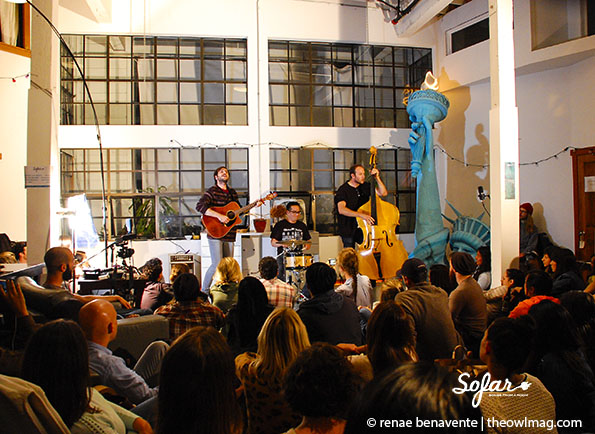 Owl Paws @ Sofar Sounds, SF 5/19/14