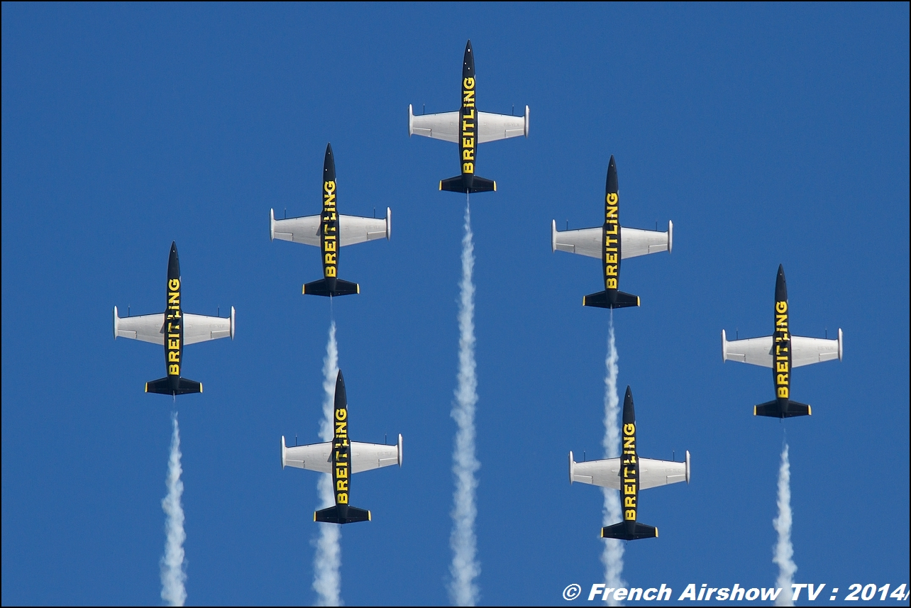 Breitling Jet Team MEETING AERIEN Til-Chatel