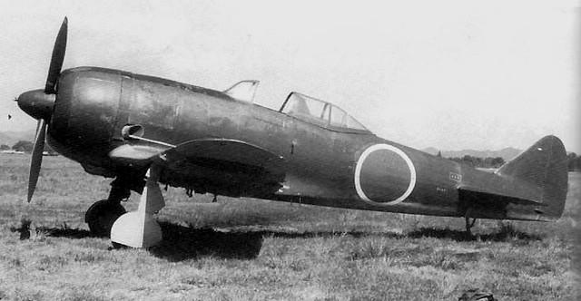 The Nakajima Ki-44 Shōki (鍾馗, Zhong Kui)