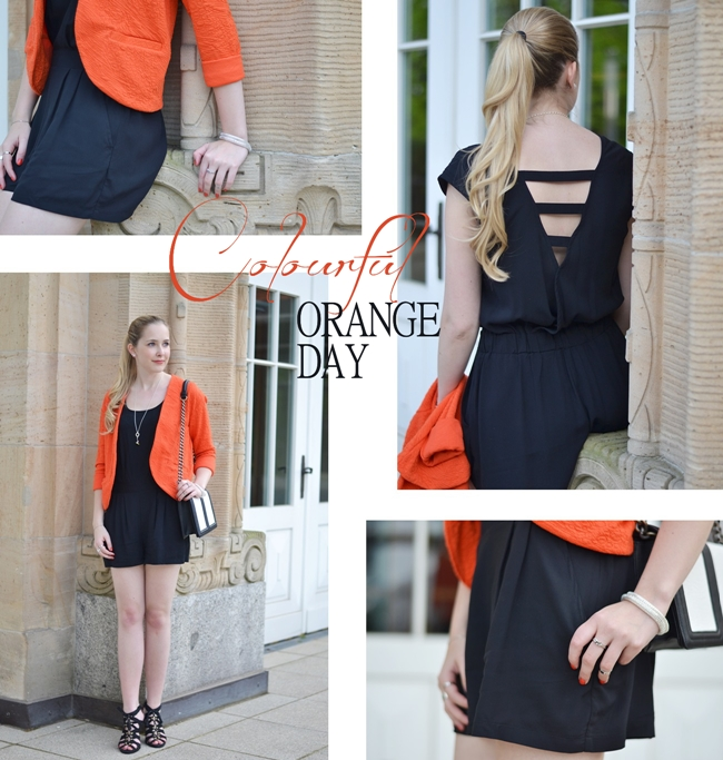 Outfit Colourful Orange Day Banner