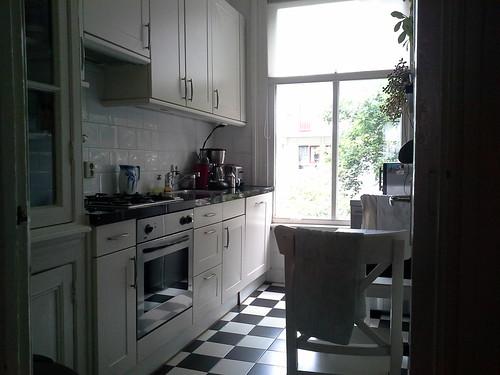 La casa ad Amsterdam: la cucina