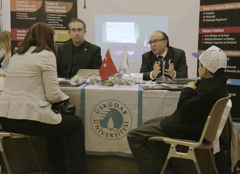 Üsküdar Üniversitesi Almanya'da Türk öğrencilerle buluştu
