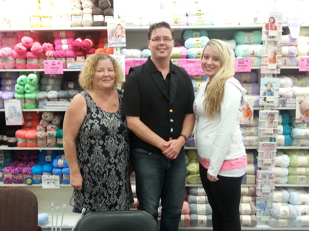 Spinrite Yarn Factory Outlet Yarn Tasting