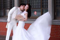婚紗照-C (圖書館及東入口)