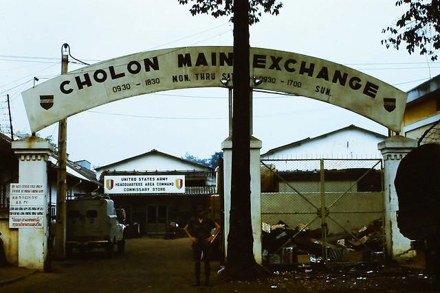 SAIGON 1970-71 - Cholon PX đường Nguyễn Tri Phương