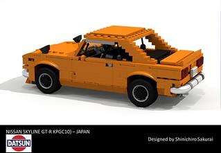 Nissan Skyline GT-R Coupe - 1971 (KPGC10)