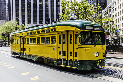 Street Car 1071 to the Ferries by Geoff Livingston
